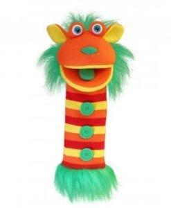 """#1 Australian Puppet Shop // 40"""" ButtonsSockettes Knitted Puppet"""