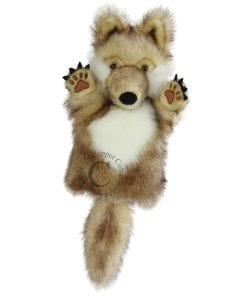 Wolf Short Sleeve Puppet // #Best Australian Puppet Store™