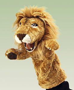 Lion Stage Folkmanis // #Best Australian Puppet Store™