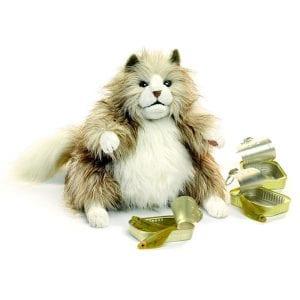 Shop Folkmanis Fluffy Cat // #1 Australian Puppet Store™ // Shop Now