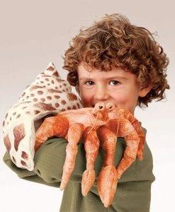 Hermit Crab - Folkmanis // #Best Australian Puppet Store™