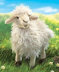 Longwool Sheep Folkmanis // #Best Australian Puppet Store™
