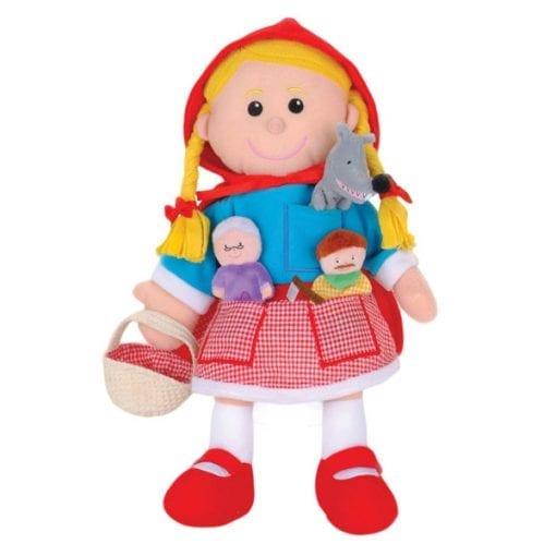 Little Red Riding Hood Hand & Finger Puppet Set // Shop now